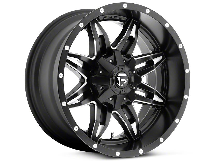 Fuel Wheels Lethal Black Milled 5-Lug Wheel - 18x9 (02-18 RAM 1500, Excluding Mega Cab)
