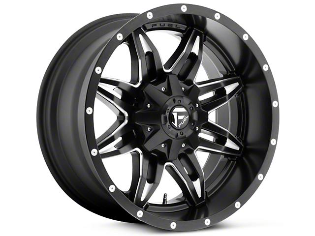 Fuel Wheels Lethal Black Milled 5-Lug Wheel - 20x10 (02-18 RAM 1500, Excluding Mega Cab)