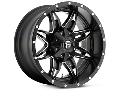Fuel Wheels Lethal Black Milled 5-Lug Wheel - 20x10 (02-17 RAM 1500, Excluding Mega Cab)