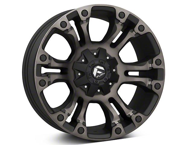 Fuel Wheels Vapor Black Machined w/ Dark Tint 5-Lug Wheel - 20x9 (02-18 RAM 1500, Excluding Mega Cab)