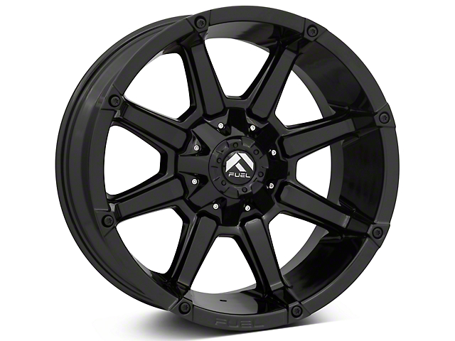 Fuel Wheels Coupler Gloss Black 5-Lug Wheel - 20x10 (02-18 RAM 1500, Excluding Mega Cab)