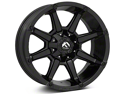 Fuel Wheels Coupler Gloss Black 5-Lug Wheel - 20x10 (02-18 RAM 1500, Excluding Mega Cab)