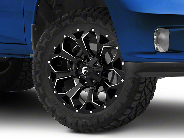 Fuel Wheels Assault Gloss Black Milled 5-Lug Wheel - 20x9 (02-18 RAM 1500, Excluding Mega Cab)