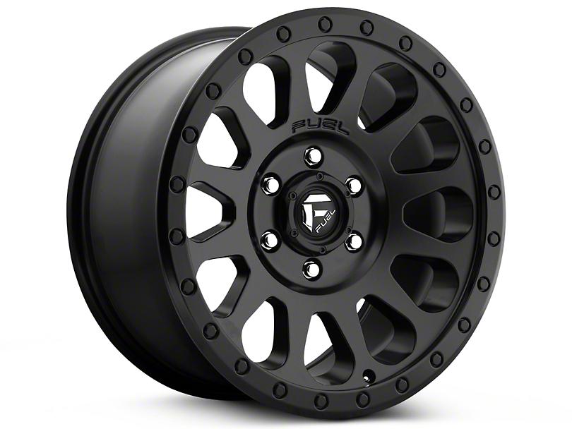 Fuel Wheels Vector Matte Black 5-Lug Wheel - 20x9 (02-18 RAM 1500, Excluding Mega Cab)