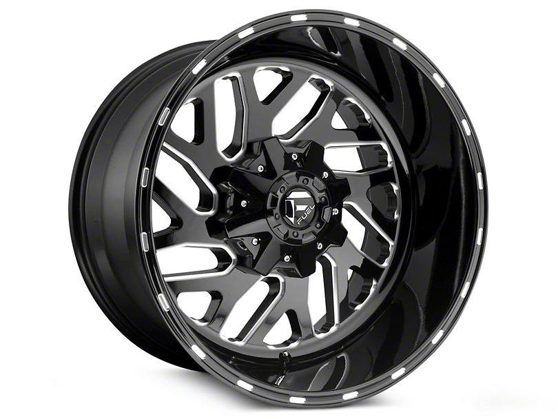 Fuel Wheels Triton Black Milled 5-Lug Wheel - 20x9 (02-18 RAM 1500, Excluding Mega Cab)