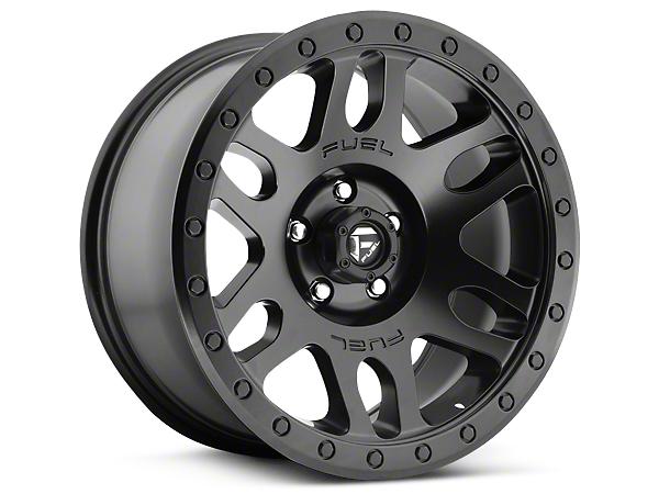 Fuel Wheels Recoil Matte Black 5-Lug Wheel - 20x9 (02-18 RAM 1500, Excluding Mega Cab)