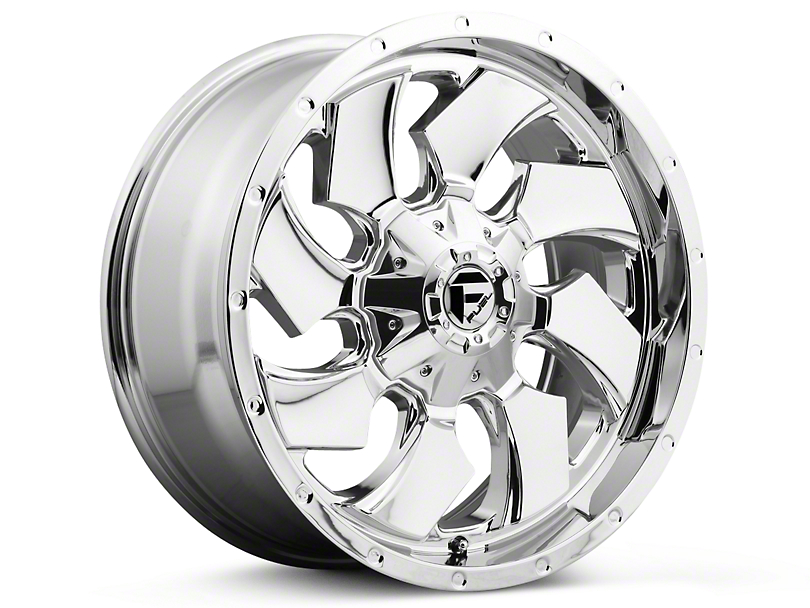 Fuel Wheels Cleaver Chrome 5-Lug Wheel - 20x9 (02-18 RAM 1500, Excluding Mega Cab)