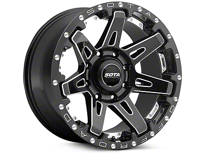 SOTA Off Road BATL Death Metal 5-Lug Wheel - 20x9 (02-18 RAM 1500, Excluding Mega Cab)