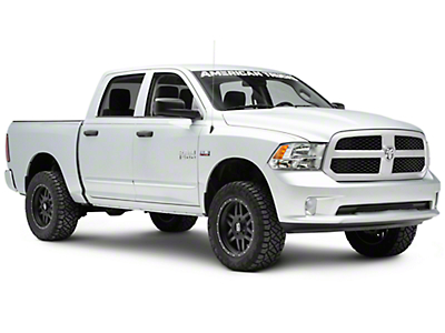 Chrome Bodyside Moldings (09-18 RAM 1500 Quad Cab, Crew Cab)