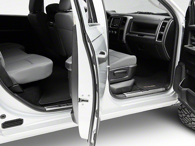 Stainless Steel Door Sill Plate Covers - Polished (09-18 RAM 1500 Quad Cab Crew Cab)  sc 1 st  AmericanTrucks & Stainless Steel Door Sill Plate Covers - Polished (09-18 RAM 1500 Quad Cab Crew Cab)