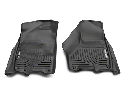 Husky WeatherBeater Front Floor Mats - Black (02-18 RAM 1500)