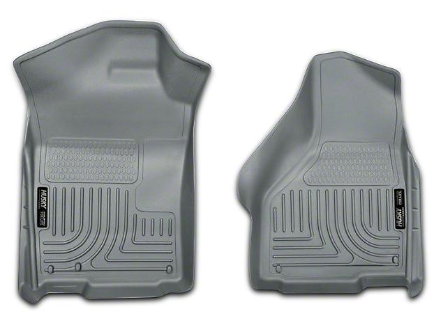 Husky WeatherBeater Front Floor Liners - Gray (02-18 RAM 1500)