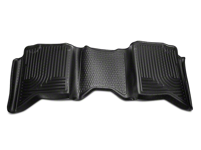 Husky WeatherBeater 2nd Seat Floor Liner - Black (09-18 RAM 1500 Quad Cab, Crew Cab)