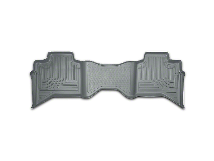 Husky WeatherBeater 2nd Seat Floor Liner - Gray (09-18 RAM 1500 Quad Cab, Crew Cab)