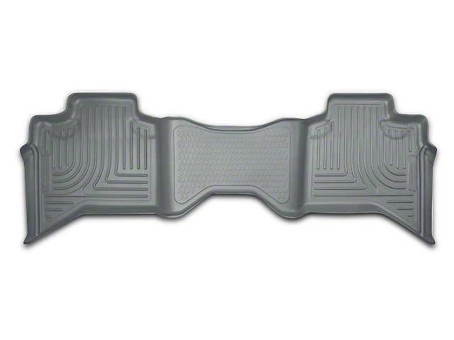 Husky WeatherBeater 2nd Seat Floor Liner - Gray (09-18 RAM 1500 Quad Cab, Crew Cab)