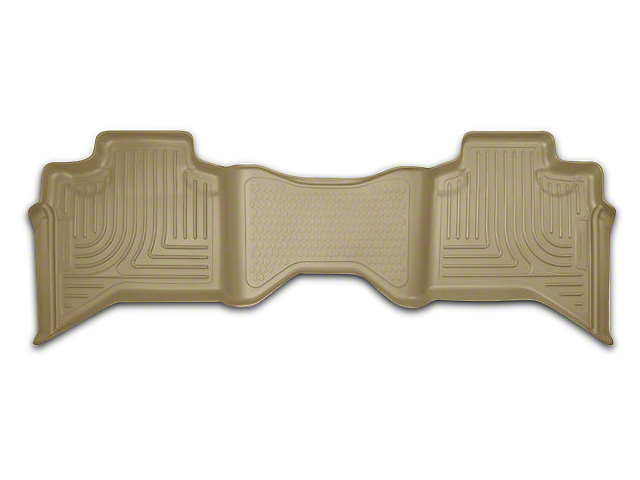 Husky WeatherBeater 2nd Seat Floor Liner - Tan (09-18 RAM 1500 Quad Cab, Crew Cab)