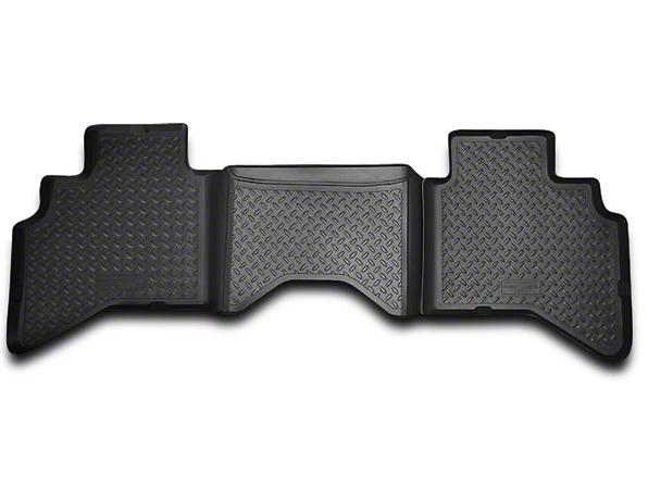 Husky Classic 2nd Seat Floor Liner - Black (02-08 RAM 1500 Quad Cab, Mega Cab)