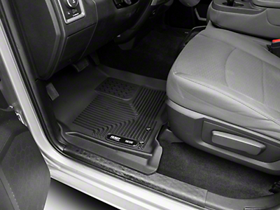 Husky X-Act Contour Front Floor Liners - Black (02-18 RAM 1500 w/ Automatic Transmission)