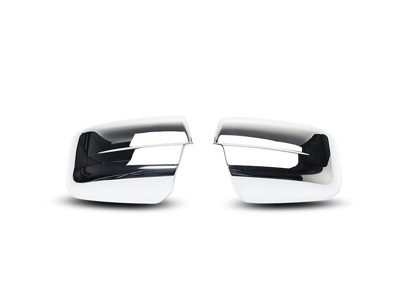 Putco Chrome Mirror Covers (09-12 RAM 1500 w/ Standard Mirrors)