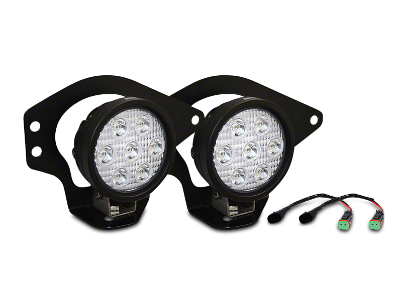 Vision X XIL-UMX4010 Fog Lights w/ Mounting Brackets (02-08 RAM 1500)
