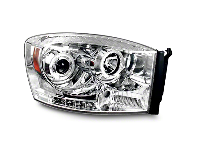Axial Chrome Halo Projector Headlights (06-08 RAM 1500)
