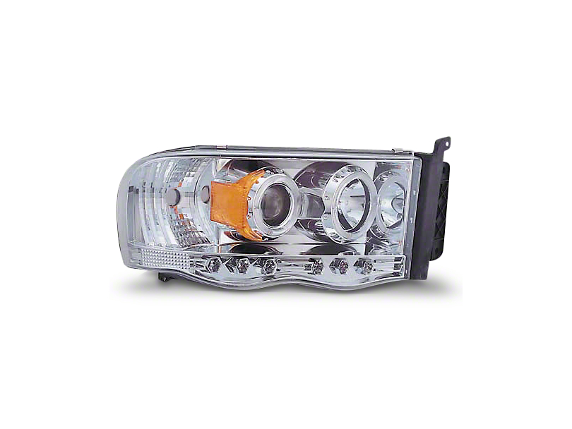 Alteon Chrome Halo Projector Headlights (02-05 RAM 1500)