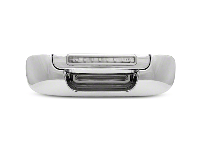 Alteon Chrome Tailgate Handle w/ Red LED & Clear Lens (02-08 RAM 1500)