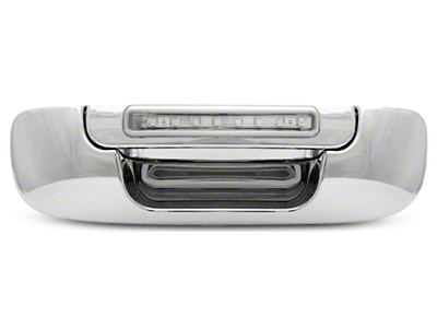 Axial Chrome Tailgate Handle w/ Red LED & Clear Lens (02-08 RAM 1500)