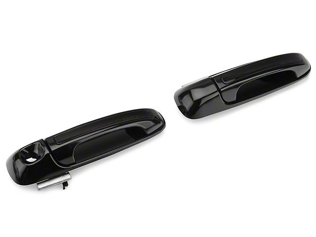 Alteon Front Black Door Handles w/ Red LED & Smoked Lens (02-06 RAM 1500)