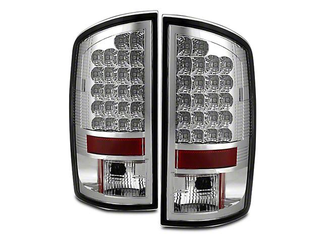 Axial Chrome LED Tail Lights (02-06 RAM 1500)