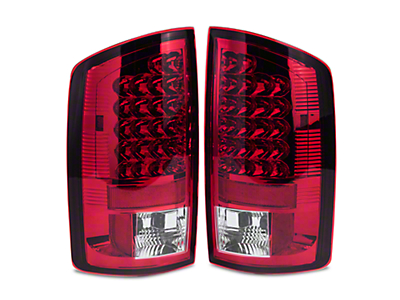 Axial Red Clear LED Tail Lights (02-06 RAM 1500)