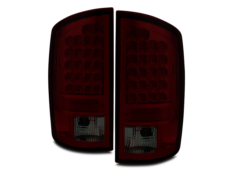 Axial Red Smoked LED Tail Lights (02-06 RAM 1500)