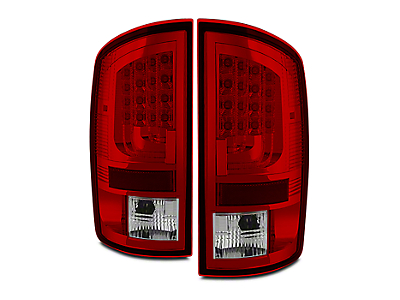 Axial Gen 2 Red Clear LED Tail Lights (02-06 RAM 1500)
