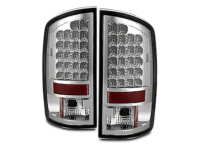 Axial Chrome LED Tail Lights (07-08 RAM 1500)