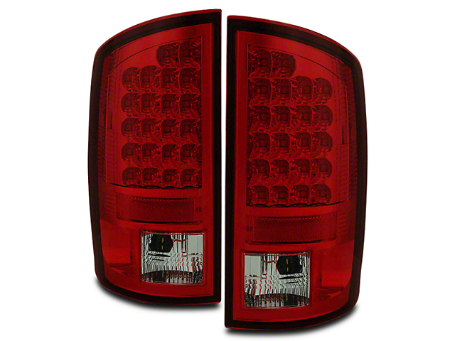 Axial Red Smoked LED Tail Lights (07-08 RAM 1500)