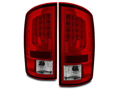 Axial Gen 2 Red Clear LED Tail Lights (07-08 RAM 1500)