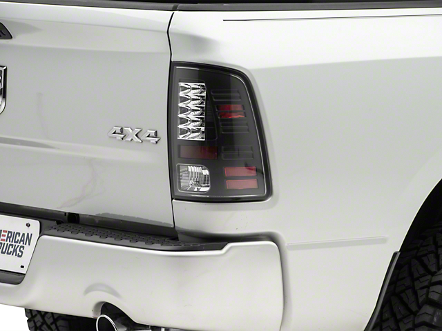 Axial Black LED Tail Lights (09-18 RAM 1500)