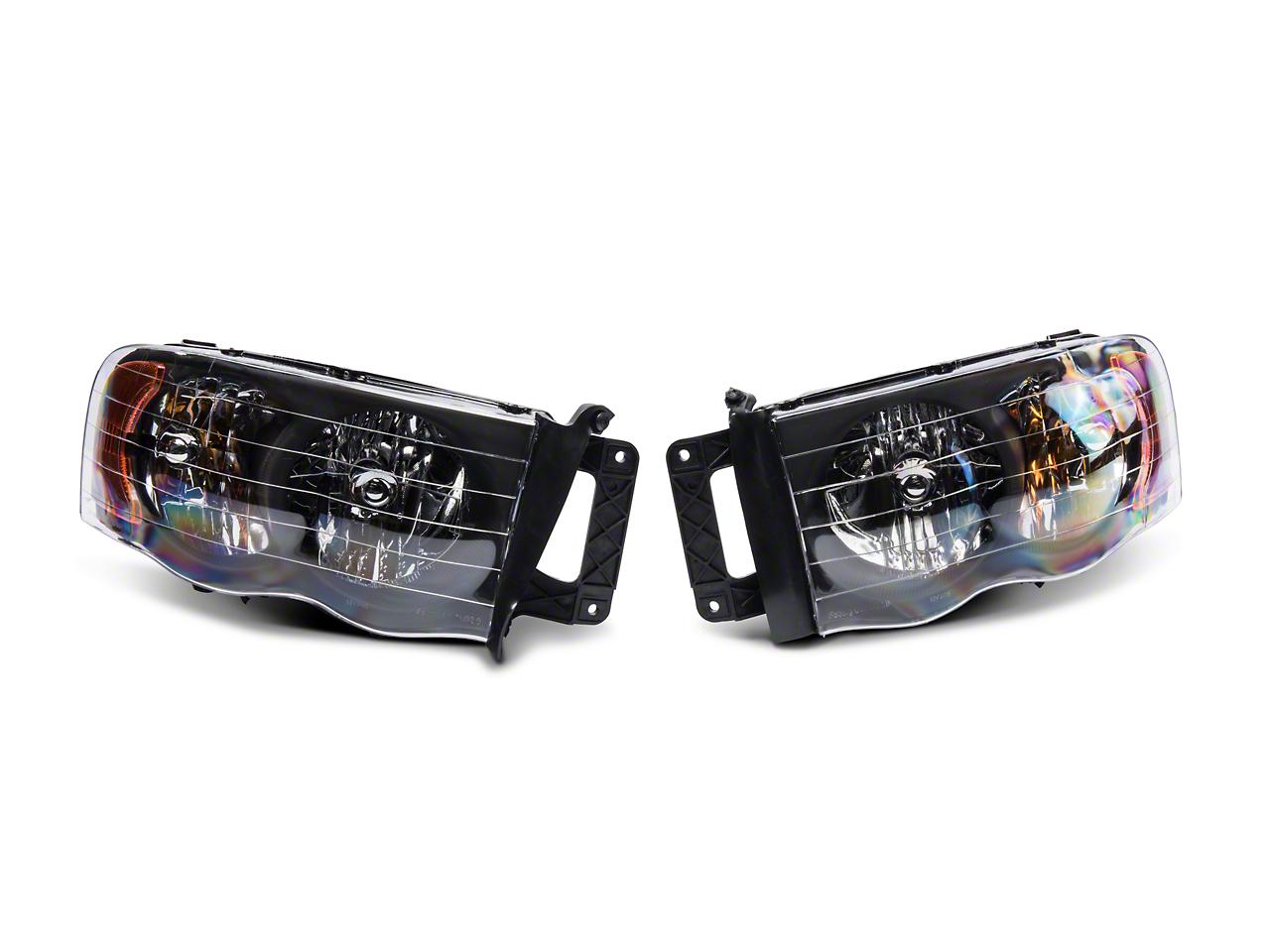 Axial Black Euro Headlights (02-05 RAM 1500)