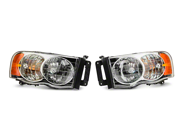 Axial Chrome Euro Headlights (02-05 RAM 1500)