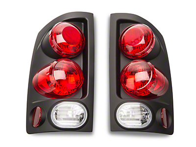 Axial Black 3D Euro Style Alteeza Tail Lights (02-06 RAM 1500)