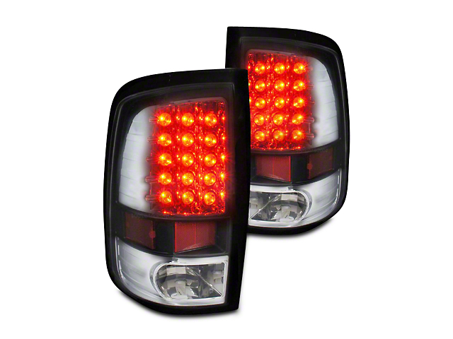 Axial Black LED Tail Lights (09-18 RAM 1500 w/o Factory LED Tail Lights)