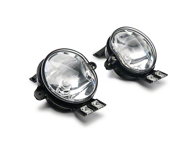 Axial Clear OEM Style Fog Lights w/ Wiring Harness - Pair (02-08 RAM 1500)