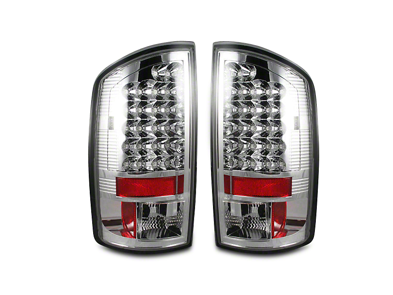 Recon LED Tail Lights - Clear Lens (07-08 RAM 1500)