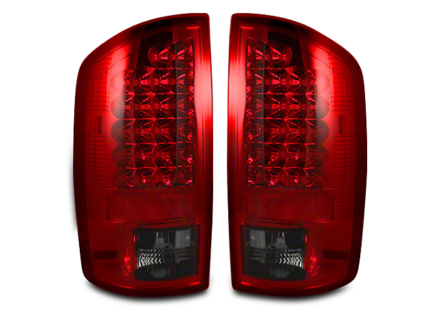 Recon LED Tail Lights - Red Smoked Lens (07-08 RAM 1500)