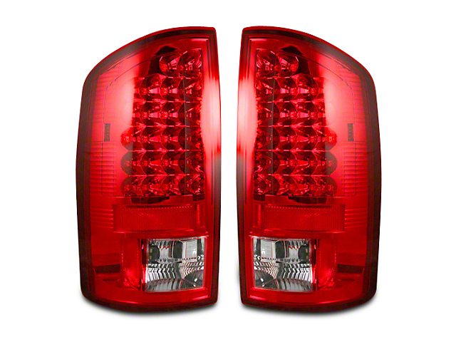 Recon LED Tail Lights - Red Lens (07-08 RAM 1500)