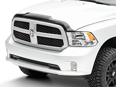 Weathertech Low Profile Hood Protector - Dark Smoke (09-18 RAM 1500)