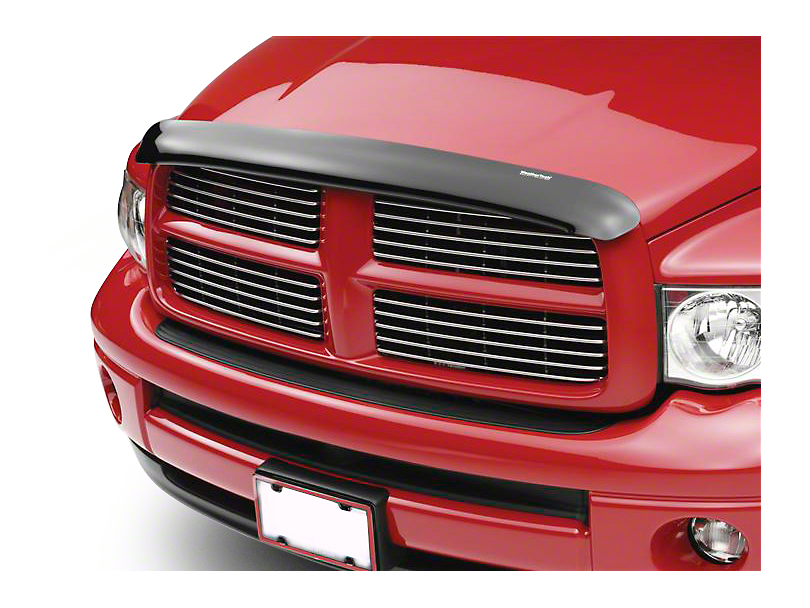 Weathertech Stone & Bug Deflector - Dark Smoke (02-08 RAM 1500)