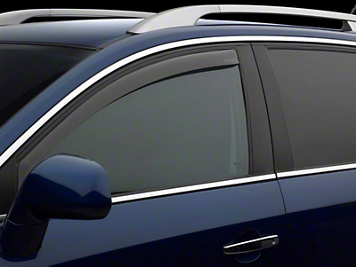 Weathertech Front Side Window Deflectors - Light Smoke (09-18 RAM 1500)