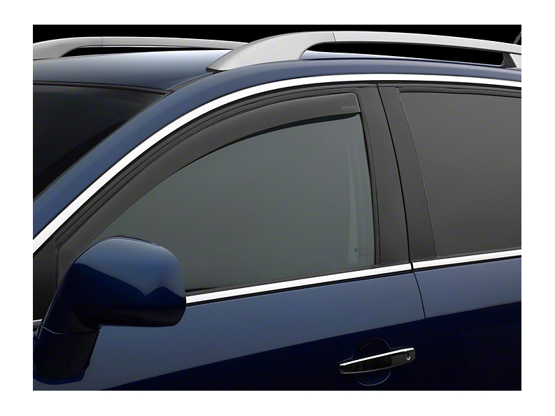 Weathertech Front Side Window Deflectors - Dark Smoke (02-08 RAM 1500)