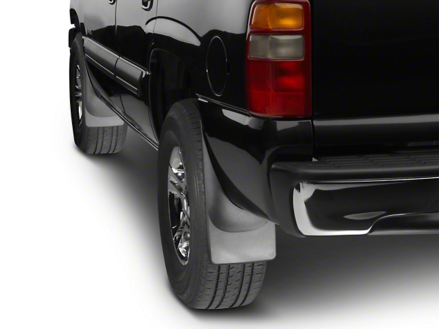 Weathertech No Drill Front Mud Flaps - Black (06-08 RAM 1500 w/o Fender Flares)